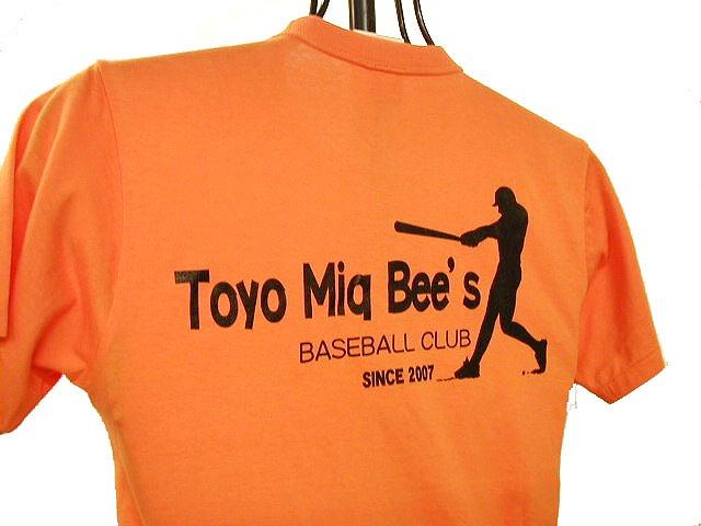 チームTシャツ・ウェア お客様の写真と声 : TOYO Miq Bee's 様