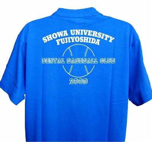 チームTシャツ・ウェア お客様の写真と声 : 昭和大学D準硬式野球部 様