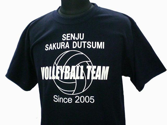 チームTシャツ・ウェア お客様の写真と声 : 千寿桜堤中バレー部 様