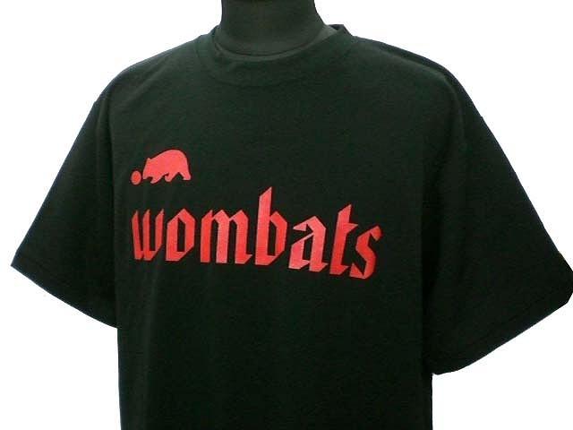 チームTシャツ・ウェア お客様の写真と声 : wombats 様(BLK)