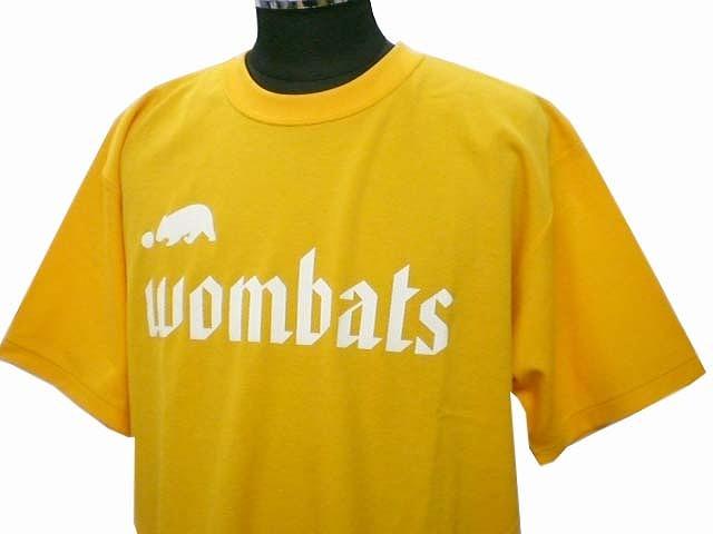 チームTシャツ・ウェア お客様の写真と声 : wombats 様(イエロー)
