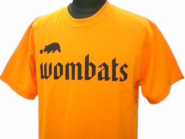 チームTシャツ・ウェア お客様の写真と声 : wombats 様(オレンジ)