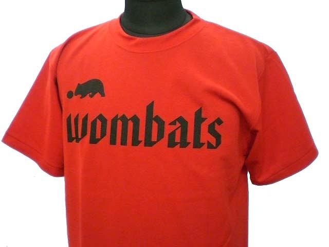 チームTシャツ・ウェア お客様の写真と声 : wombats 様(レッド)