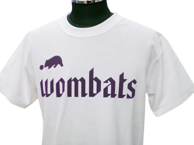 チームTシャツ・ウェア お客様の写真と声 : wombats 様(ホワイト)