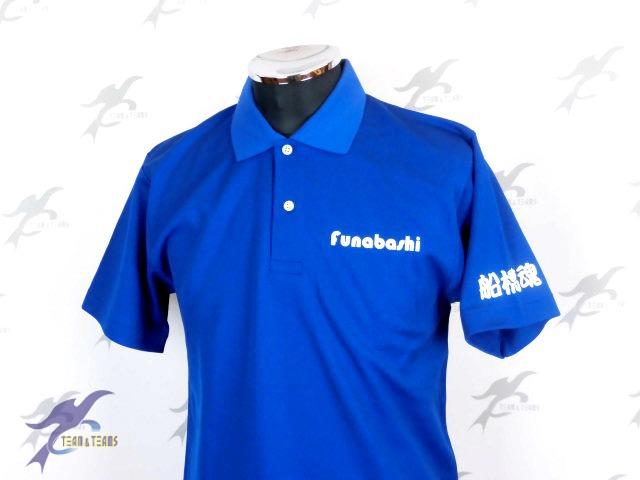 チームTシャツ・ウェア お客様の写真と声 : ジブラルタ生命保険㈱船橋支店様(ポロシャツ)