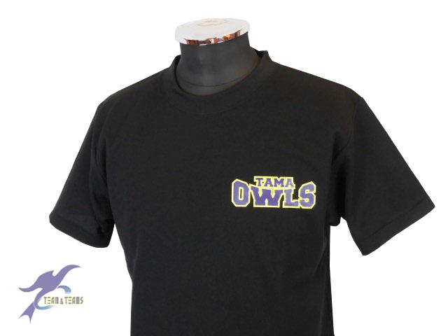 チームTシャツ・ウェア お客様の写真と声 : 多摩アウルズ様(野球チームTシャツ)