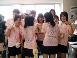チームTシャツ・ウェア お客様の写真と声 : 竹台高校2-6 様