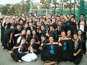 チームTシャツ・ウェア お客様の写真と声 : 足立西高校青団 様