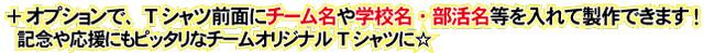 須永博士Tシャツ オプションでチーム名や学校名 部活名 個人名も入れて製作できます